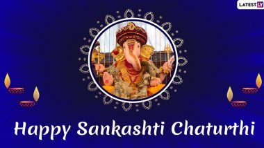 Happy Sankashti Chaturthi 2019 Wishes in Marathi: WhatsApp Messages, Ganpati Photos, GIF Images, SMS and Greetings to Send on November 15
