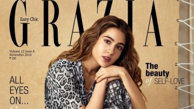 Sara Ali Khan Rocks the Animal Print Outfit By Tommy Hilfiger X Zendaya on The Magazine Cover of Grazia India's November Issue