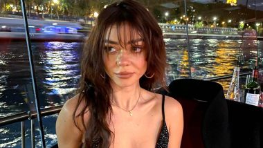 Sarah Hyland Shares Pictures of her Own Wardrobe Malfunction While On a Romantic Vacation With Fiancé Wells Adams