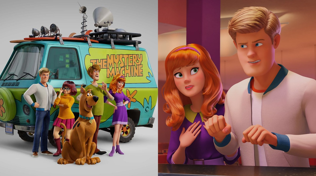 New Stills Of Fred, Daphne, Velma, Shaggy And Scooby Doo From The Upcoming Animated Film 'Scoob' Invoke Nostalgia!