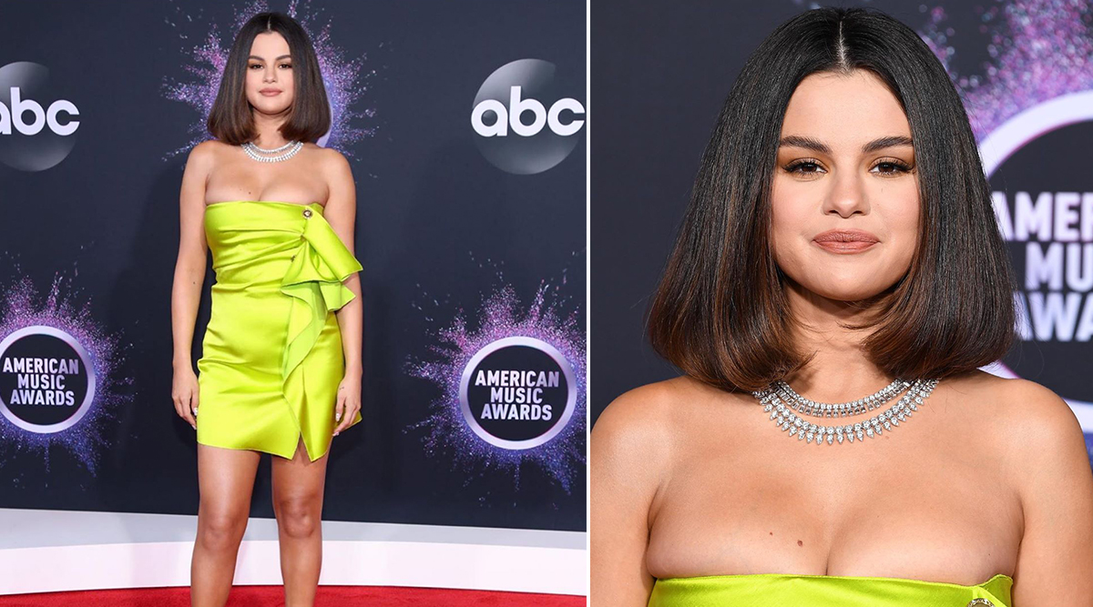 Selena Gomez's AMAs 2019 Look Decoded: Dress, Diamonds, Heels and Makeup, Kill 'Em With Kindness!