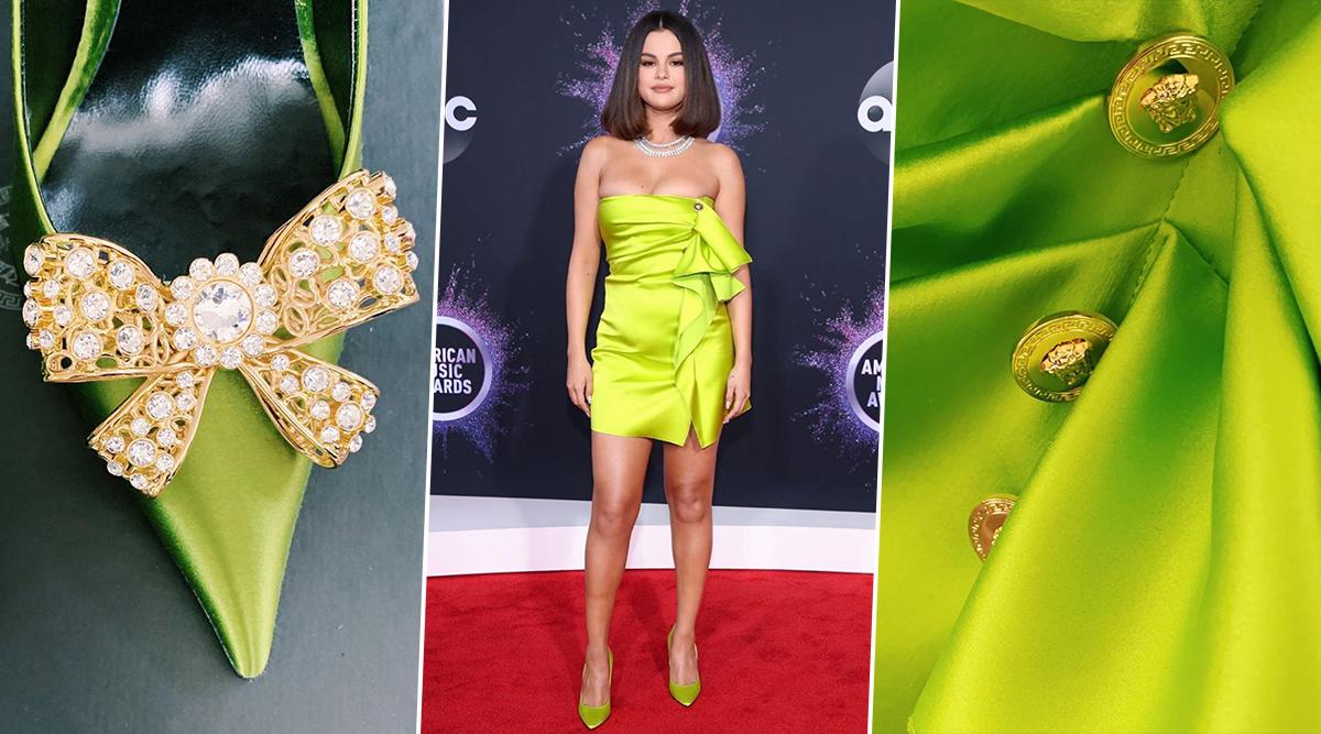 Selena Gomez's AMAs 2019 Look Decoded Dress, Diamonds, Heels and Makeup (3)