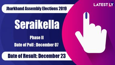 Saraikela (ST) Vidhan Sabha Constituency in Jharkhand: Sitting MLA, Candidates For Assembly Elections 2019, Results And Winners