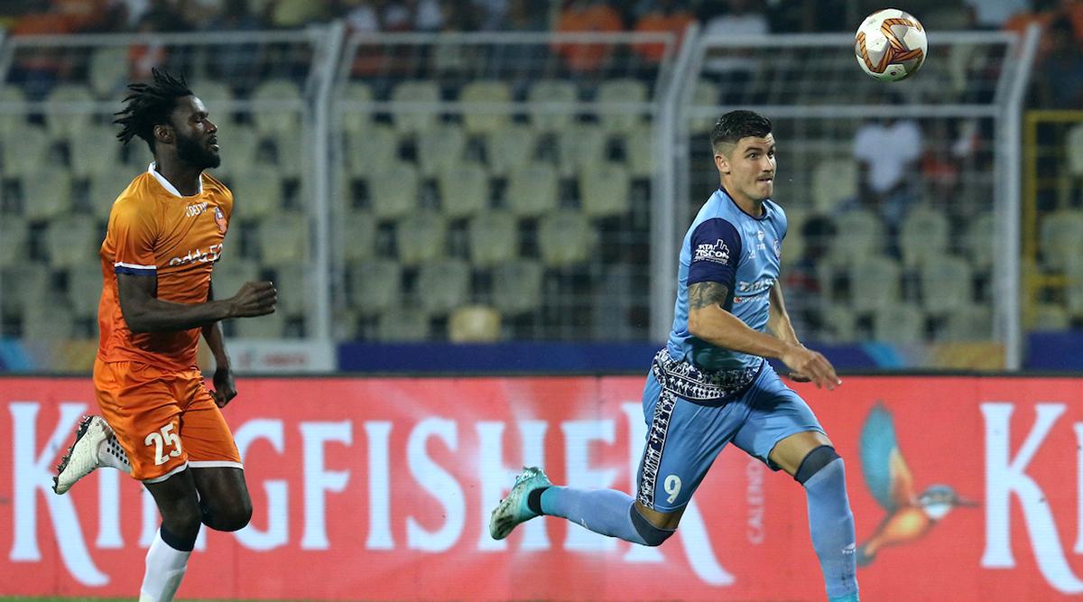ISL 2019–20 FCG vs JFC Result: Sergio Castel's First-Half Strike Helps Jamshedpur Edge 10-Man FC Goa