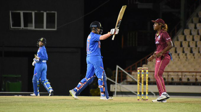 India Women vs West Indies Women 2019: Shafali Verma, Smriti Mandhana Shine as IND Thrash WI By 84 Runs