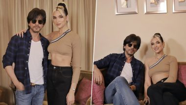 Shah Rukh Khan Teaches British Singer Dua Lipa Some Bollywood Dance Steps and We Wonder Whether It is Chhaiyya Chhaiyya! (View Pics)