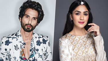 Confirmed! Mrunal Thakur to Be Paired Opposite Shahid Kapoor in Jersey Remake