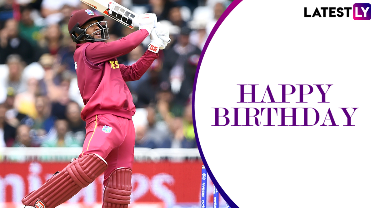 Shai Hope Birthday Special! Here Are 5 Best Performances of West Indies' Wicket-Keeper Batsman and Lesser-Known Things to Know About Him