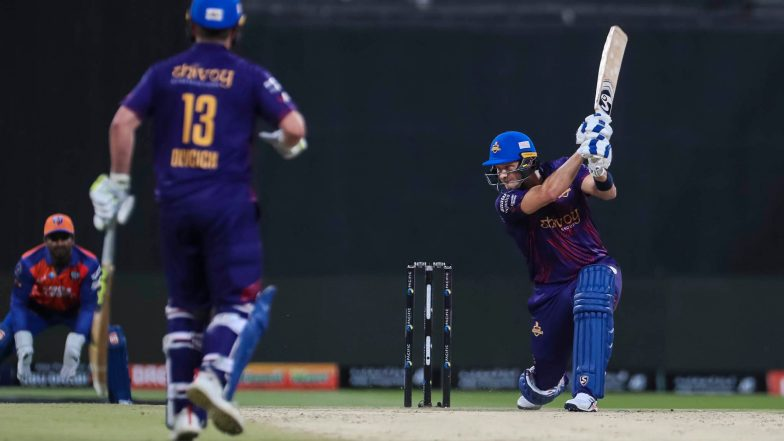Abu Dhabi T10 League 2019 Live Streaming of Deccan Gladiators vs Team Abu Dhabi Online on Sony Liv: How to Watch Free Live Telecast of DEG vs TAB on TV & Cricket Score Updates in India