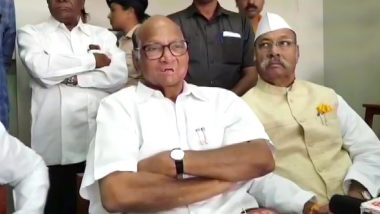 NCP Chief Sharad Pawar Takes a Swipe at Centre on Income Tax Notices, Says 'They Love Some People'