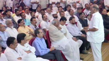 Maharashtra Power Tussle: NCP, Shiv Sena, Congress Show Unity, Sharad Pawar Says 'Will Bring More Than 162 MLAs During Floor Test'