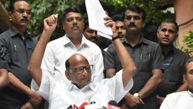 'Plot to Kill Sharad Pawar': NCP Activist Files Complaint in Pune, Cites YouTube Videos, Comment Screenshots