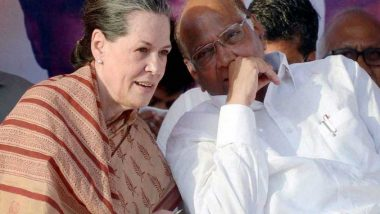 Maharashtra: Sharad Pawar to Meet Sonia Gandhi for Discussion on Forming Government With Shiv Sena