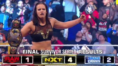 WWE Survivor Series 2019 Results and Highlights: Shayna Baszler Defeats Becky Lynch & Bayley in Triple-Threat Match; NXT Dominates Raw, SmackDown (Watch Videos)
