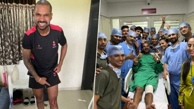 Shikhar Dhawan Livens Up Hospital He Visited After Injury, Hardik Pandya Thinks Otherwise (See Pics)
