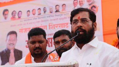 Eknath Shinde Replaces Aaditya Thackeray as Shiv Sena Cadres' Top CM Choice? Posters Up in Thane Create Buzz