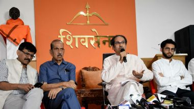 Maharashtra Government Formation: Shiv Sena Invited by Governor Bhagat Singh Koshiyari to Stake Claim After BJP Turns Down Invite