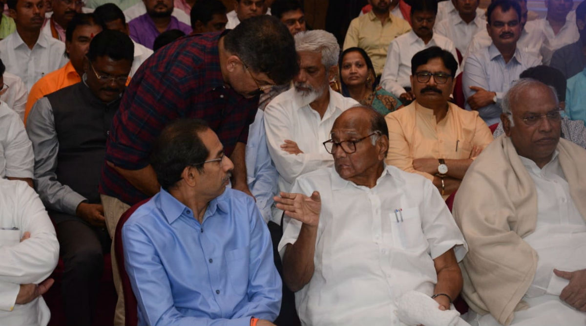 Maharashtra Government Formation: Uddhav Thackeray as CM, Farmers And Jobs in Focus in Shiv Sena-NCP-Congress Common Minimum Programme