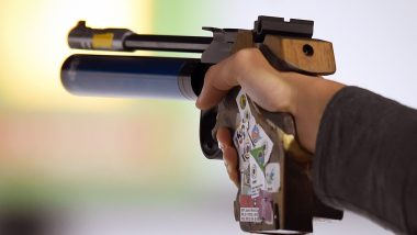 Asian Shooting Championships 2019: India's Naveen Bags Gold Medal in Men's 10 Metre Air Pistol Event