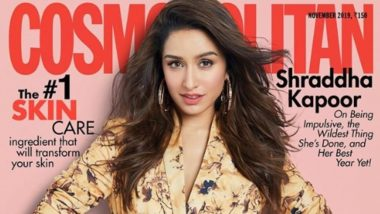 Shraddha Kapoor Graces The Cover of Cosmopolitan Magazine But It's A Dull Shoot!