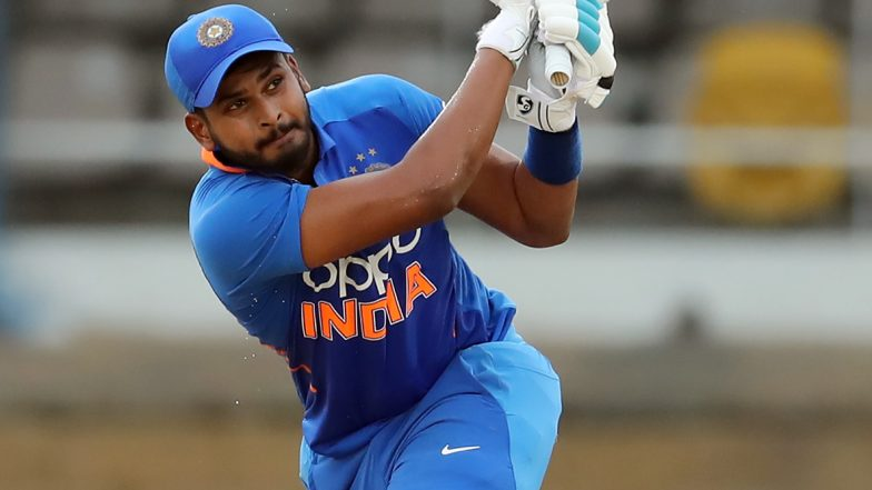 Shreyas Iyer Hits First T20I Fifty During India vs Bangladesh 3rd T20I 2019, Thrills Nagpur Crowd With Hat-Trick of Sixes off Afif Hossain's Over