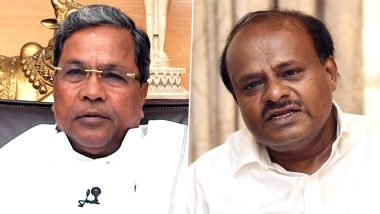 Siddaramaiah, HD Kumaraswamy Booked For Sedition, Defamation For Protesting Outside IT Department Office in Bengaluru