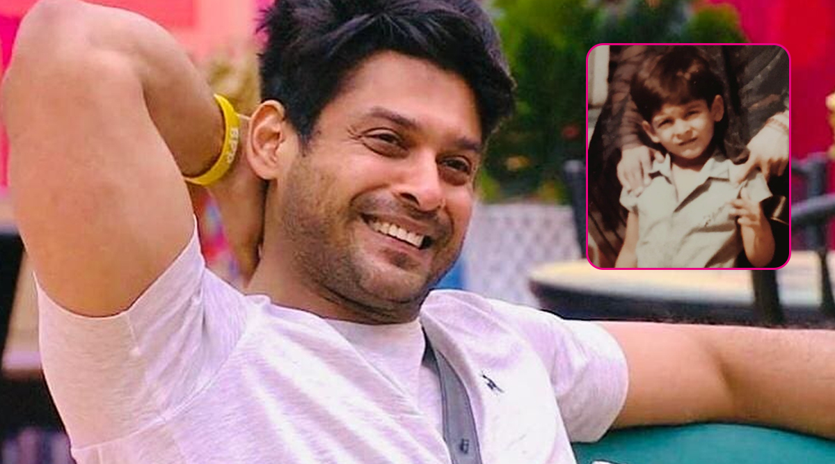 Bigg Boss 13 Contestant Sidharth Shukla's Children's Day Special Photo Is the Cutest and Has a Positive Message for All!