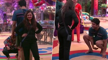 Bigg Boss 13: Sidharth Shukla and Rashami Desai Bond Over a Potty Session, and Its Not What You Think (Watch Video)