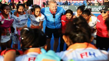 After Indian Women's Hockey Team Qualified for Tokyo Olympics 2020, Coach Sjoerd Marijne Says, Our Olympic Preparation Starts on Sunday Morning