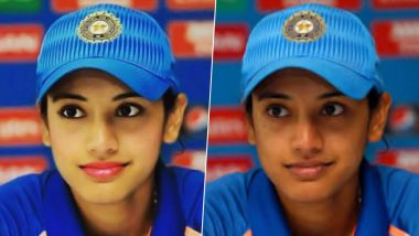 Smriti Mandhana's Photoshopped Image Sends Twitter Into Frenzy, Netizens Question Society's Beauty Double Standards