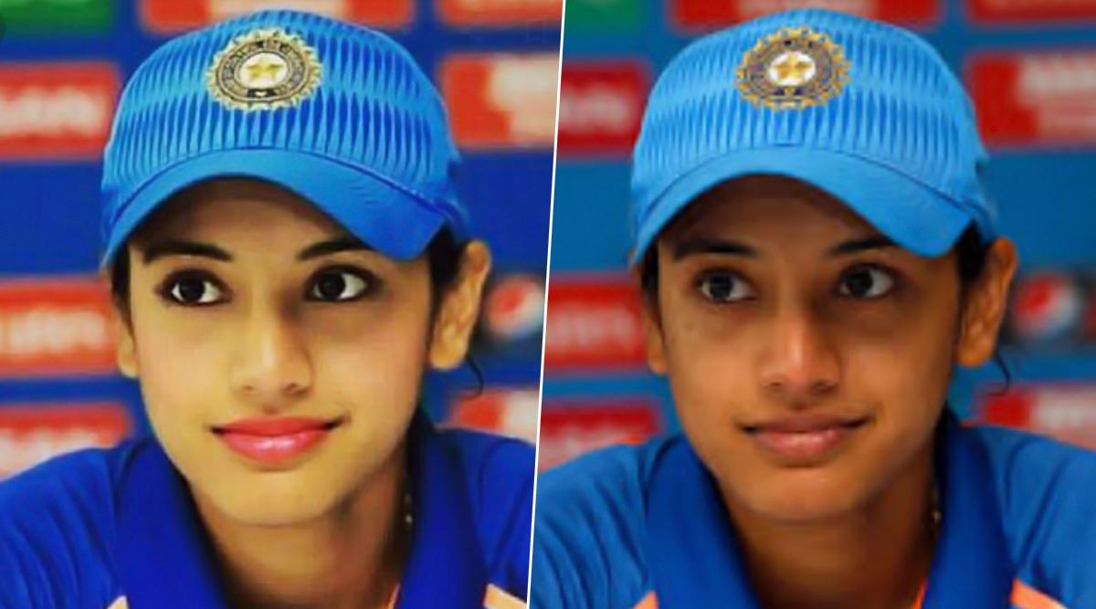 Smriti Mandhana's Photoshopped Image Sends Twitter Into Frenzy, Netizens Question Society's Beauty Double Standards