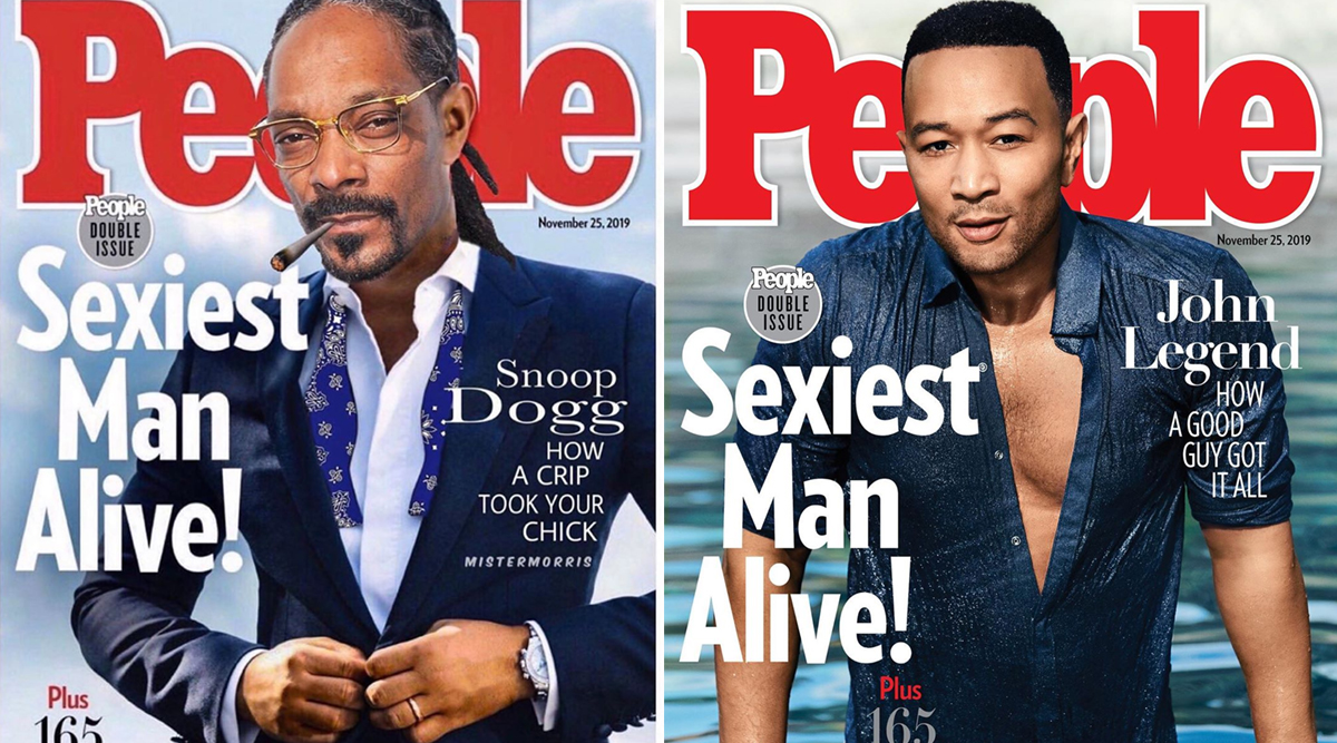 Snoop Dog Tags Himself 'Sexiest Man Alive' by Replacing John Legend's Photo From People's Magazine Cover (View Pic)
