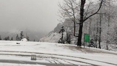 Weather Forecast: Jammu and Kashmir, Uttarakhand and Himachal Pradesh To Witness Widespread Snowfall, Rainfall and Hailstorms This Week, Says IMD