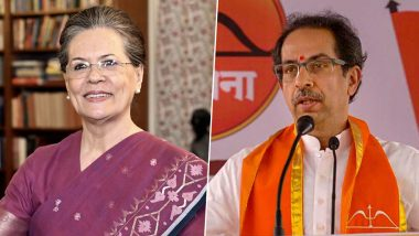 Maharashtra Government Formation: Congress to Support Shiv Sena After Uddhav Thackeray Dials Sonia Gandhi