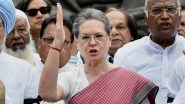 CAB Passed in Rajya Sabha: Sonia Gandhi Calls Passage of Citizenship Amendment Bill 'Victory of Bigoted Forces'