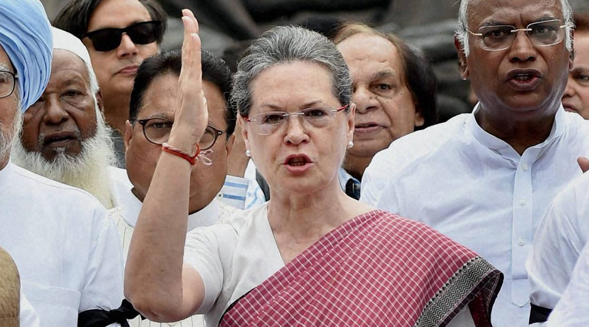 WhatsApp Snooping Row: Sonia Gandhi Targets Modi Government, Says 'Such Activities Illegal, Unconstitutional, Shameful'
