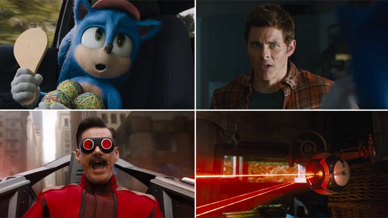 Sonic The Hedgehog New Trailer: New Version of Sonic Is Here To Entertain Us Along With Jim Carrey and James Marsden (Watch Video)