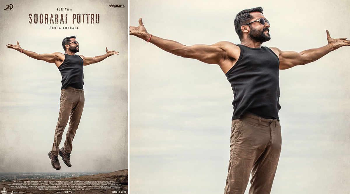 Soorarai Pottru First Look: Suriya's Fit and Fab Physique Leave Fans Impressed, Sudha Kongara Directorial to Release in Summer 2020 (View Pic)