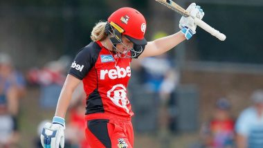 Australia Women Cricketer Sophie Molineux Takes Break Over Mental Health