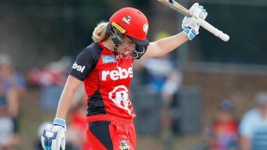 Australia Women Cricketer Sophie Molineux Takes Break Over Mental Health