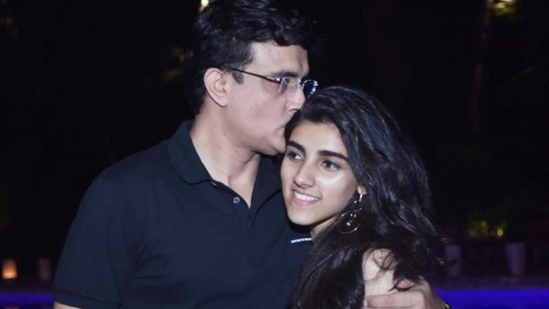 Sourav Ganguly Wishes Daughter Sana on Her 18th Birthday (See Post)