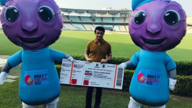 India vs Bangladesh 2nd Test: Mascots Pinku and Tinku All Set to Entertain Crowd at Eden Gardens During Team India's First Day-Night Test