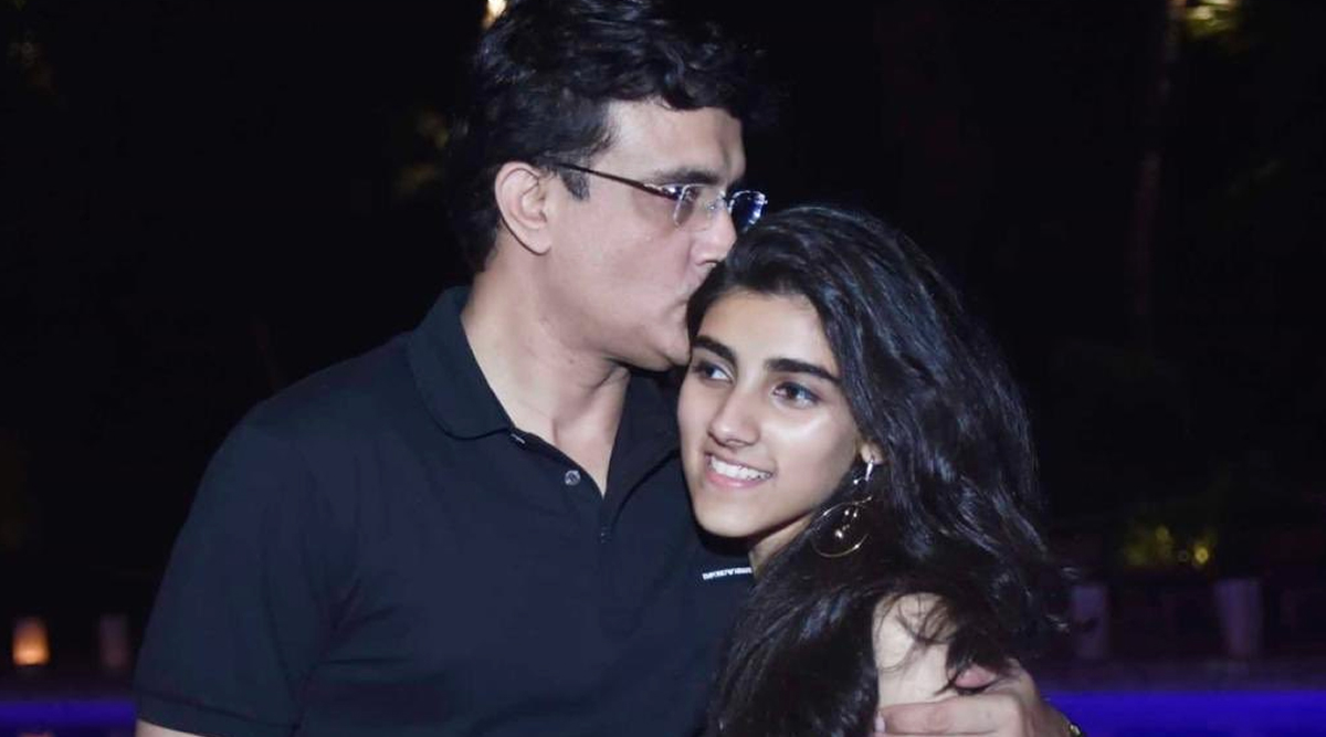 Sourav Ganguly Hilariously Trolled by Daughter Sana on Instagram (See Post)