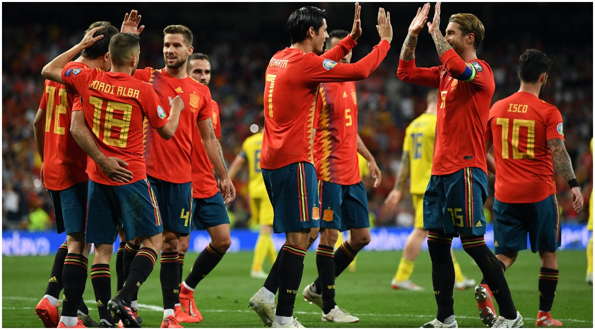 Spain vs Malta, UEFA EURO Qualifiers 2020 Live Streaming Online & Match Time in IST: How to Get Live Telecast of SPA vs MAL on TV & Football Score Updates in India