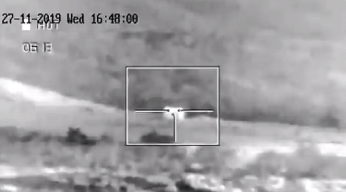 Spike Anti-Tank Guided Missile Strikes Target With Precision During Test-Fire in Madhya Pradesh's Mhow; Watch Video