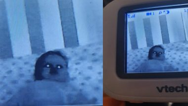 Baby Monitor Makes Child Look Spooky, Parent Shares Moment That Gave Fright of Her Life (See Picture)