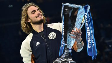 Stefanos Tsitsipas Beats Dominic Thiem in Thriller to Win ATP Finals 2019 Title