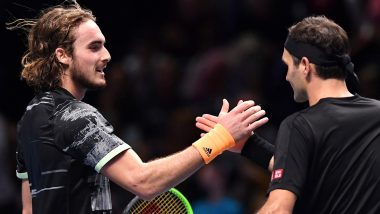 Stefanos Tsitsipas Beats Roger Federer in ATP Finals 2019 Semis, to Meet Dominic Thiem in Summit Clash