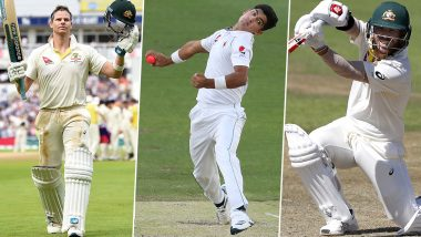 Australia vs Pakistan, 1st Test 2019, Key Players: Steve Smith, Naseem Shah, David Warner and Other Cricketers to Watch Out for in Brisbane