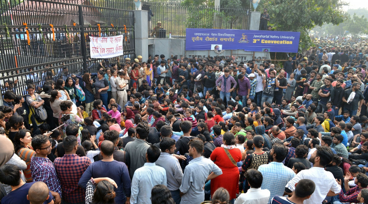 JNU Fee Hike Protest to BHU Sanskrit Professor Appointment Row, Students' Agitations That Have Rocked Educational Campuses This Year